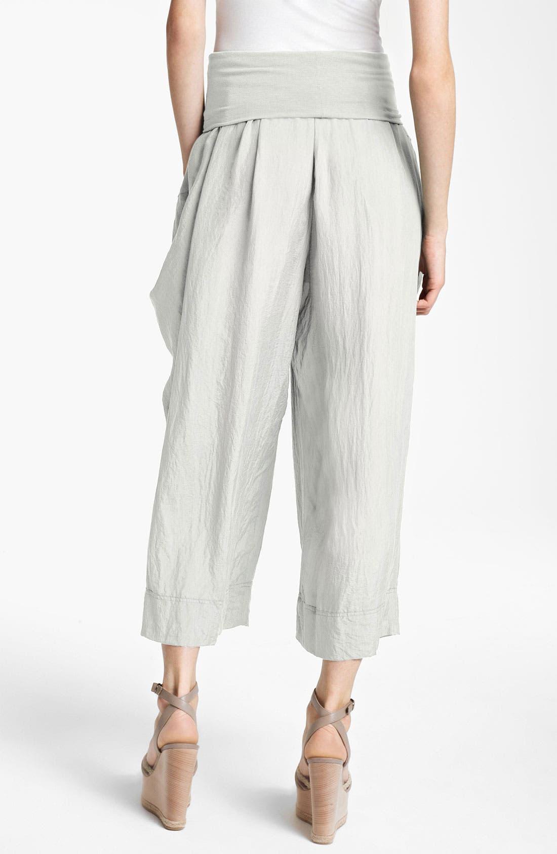 Alternate Image 2  - Donna Karan Collection Draped Gaucho Pants