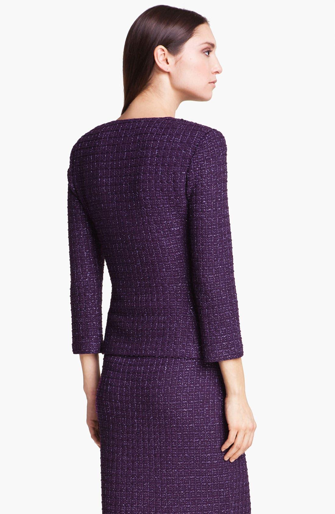Alternate Image 4  - St. John Collection Shimmer Tweed Jacket
