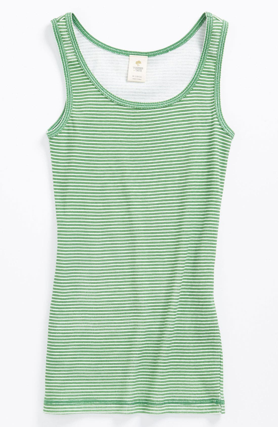 Alternate Image 1 Selected - Tucker + Tate 'Mandy' Stripe Tank Top (Big Girls)