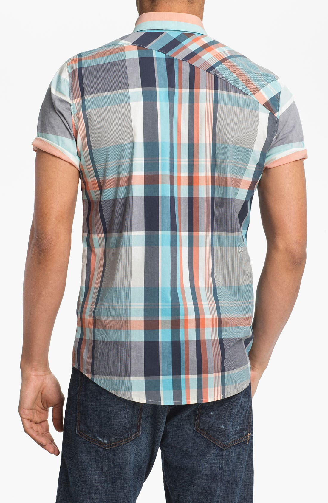 Alternate Image 2  - Volcom 'Lonsway' Plaid Woven Shirt