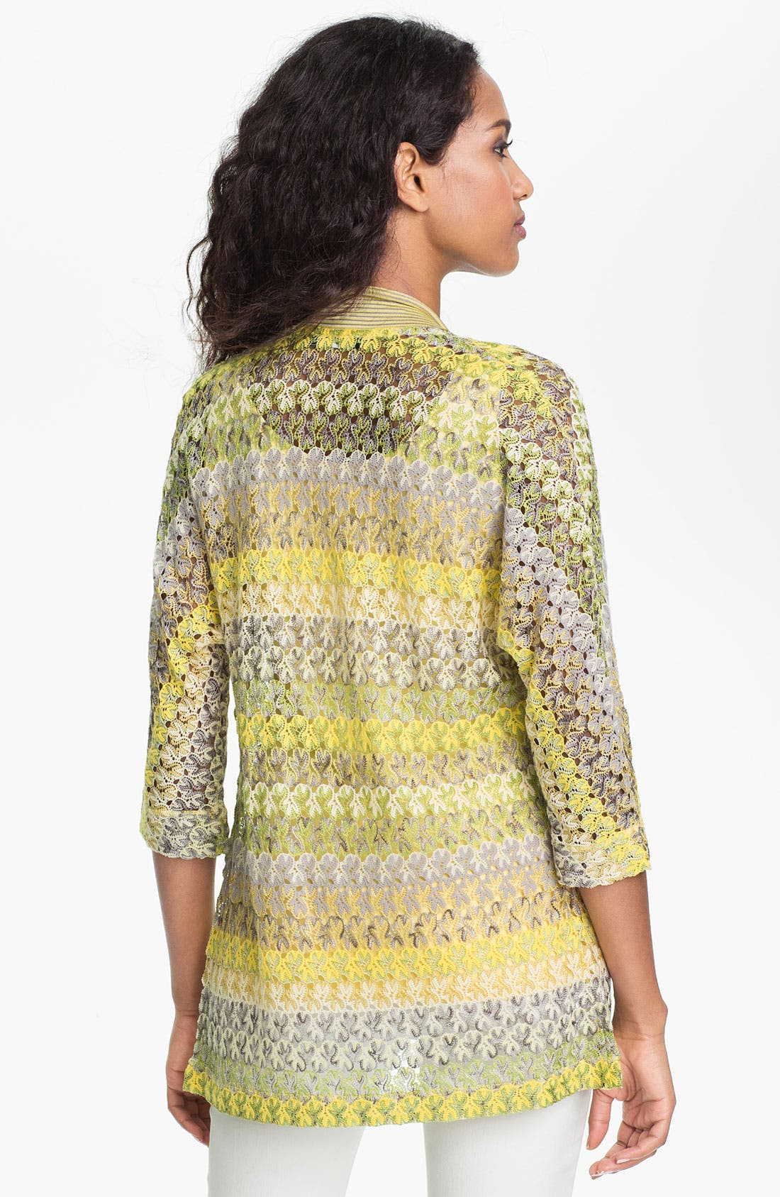 Alternate Image 2  - Nic + Zoe 'Lace Weave' Cardigan