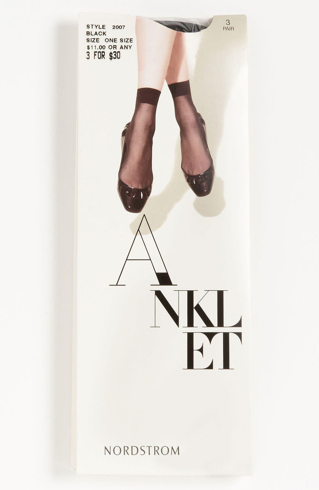 Alternate Image 1 Selected - Nordstrom Sheer Anklet