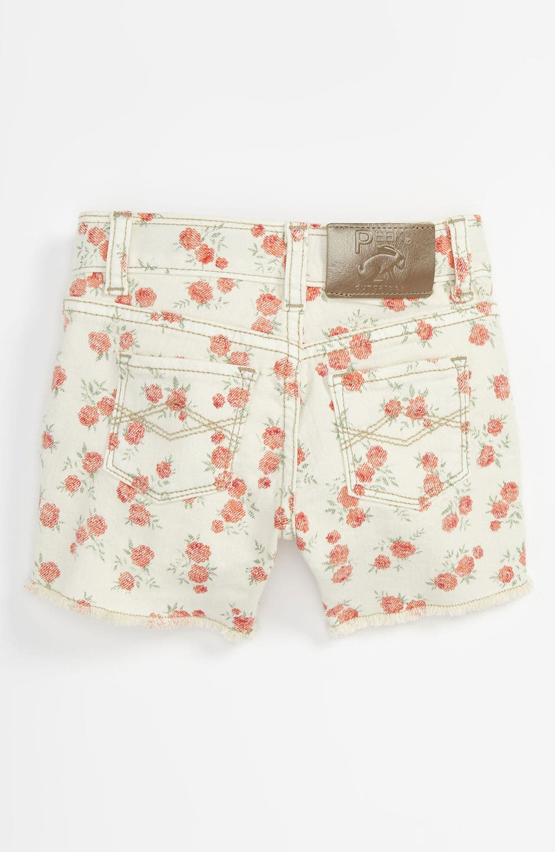 Alternate Image 1 Selected - Peek 'New Griffin' Shorts (Toddler, Little Girls & Big Girls)