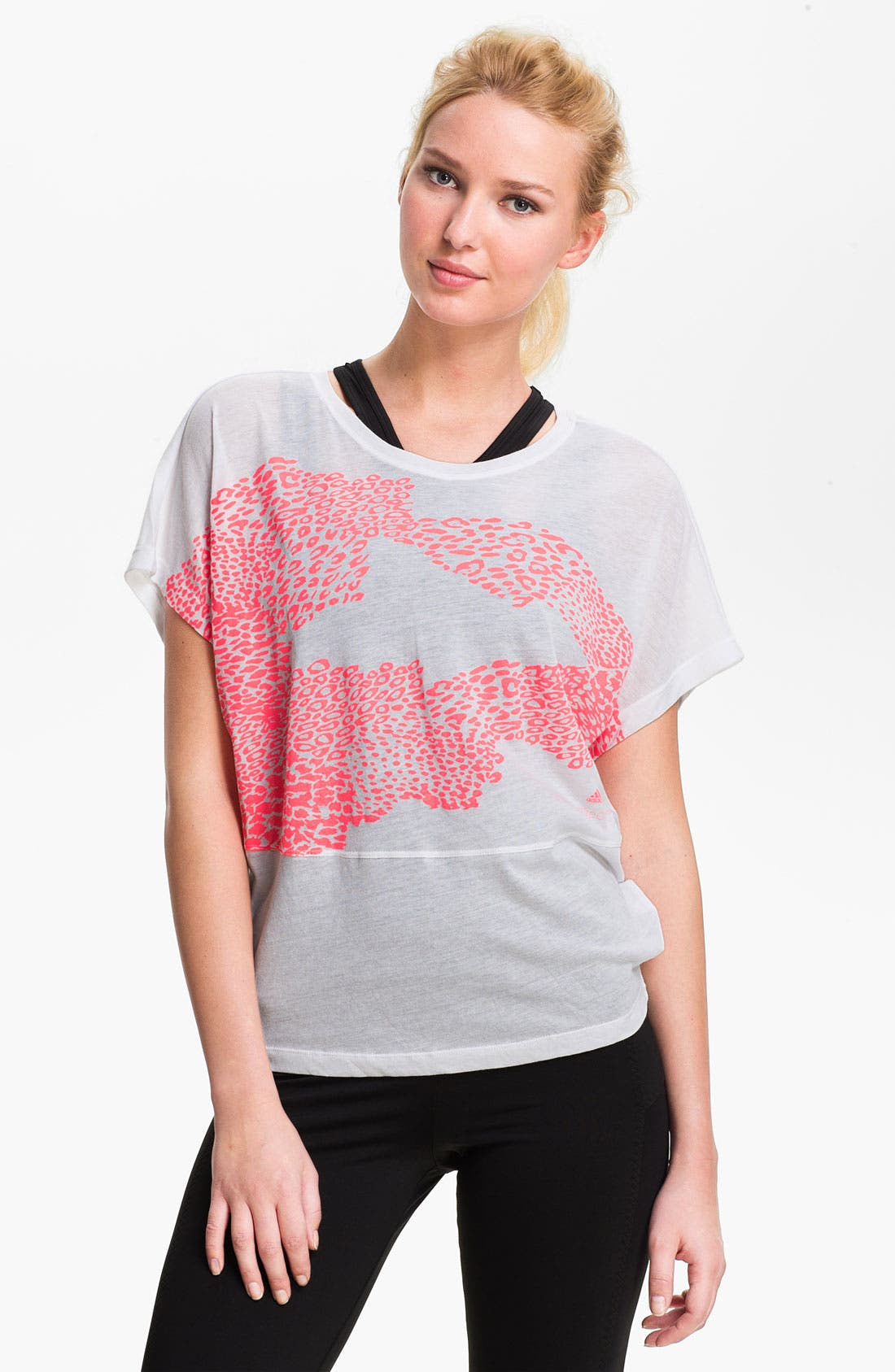 Alternate Image 1 Selected - adidas by Stella McCartney 'Essentials' Graphic Tee