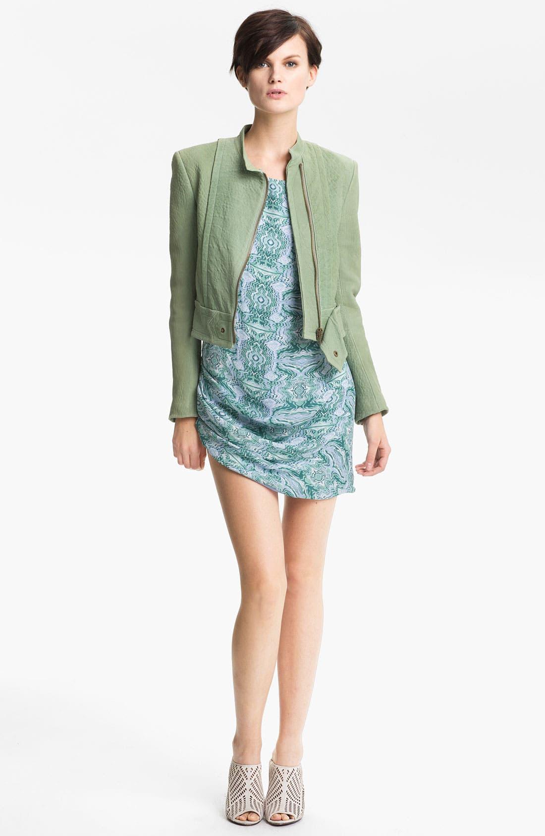 Alternate Image 1 Selected - Kelly Wearstler 'Jasper' Lambskin Leather Jacket