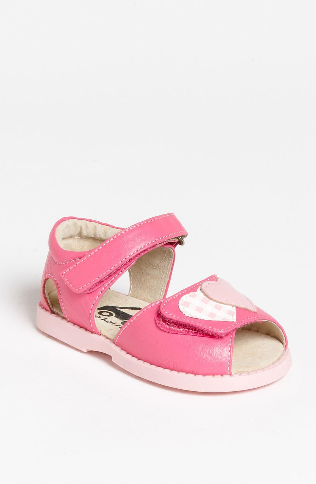 Alternate Image 1 Selected - See Kai Run 'Penelope' Sandal (Baby, Walker & Toddler)