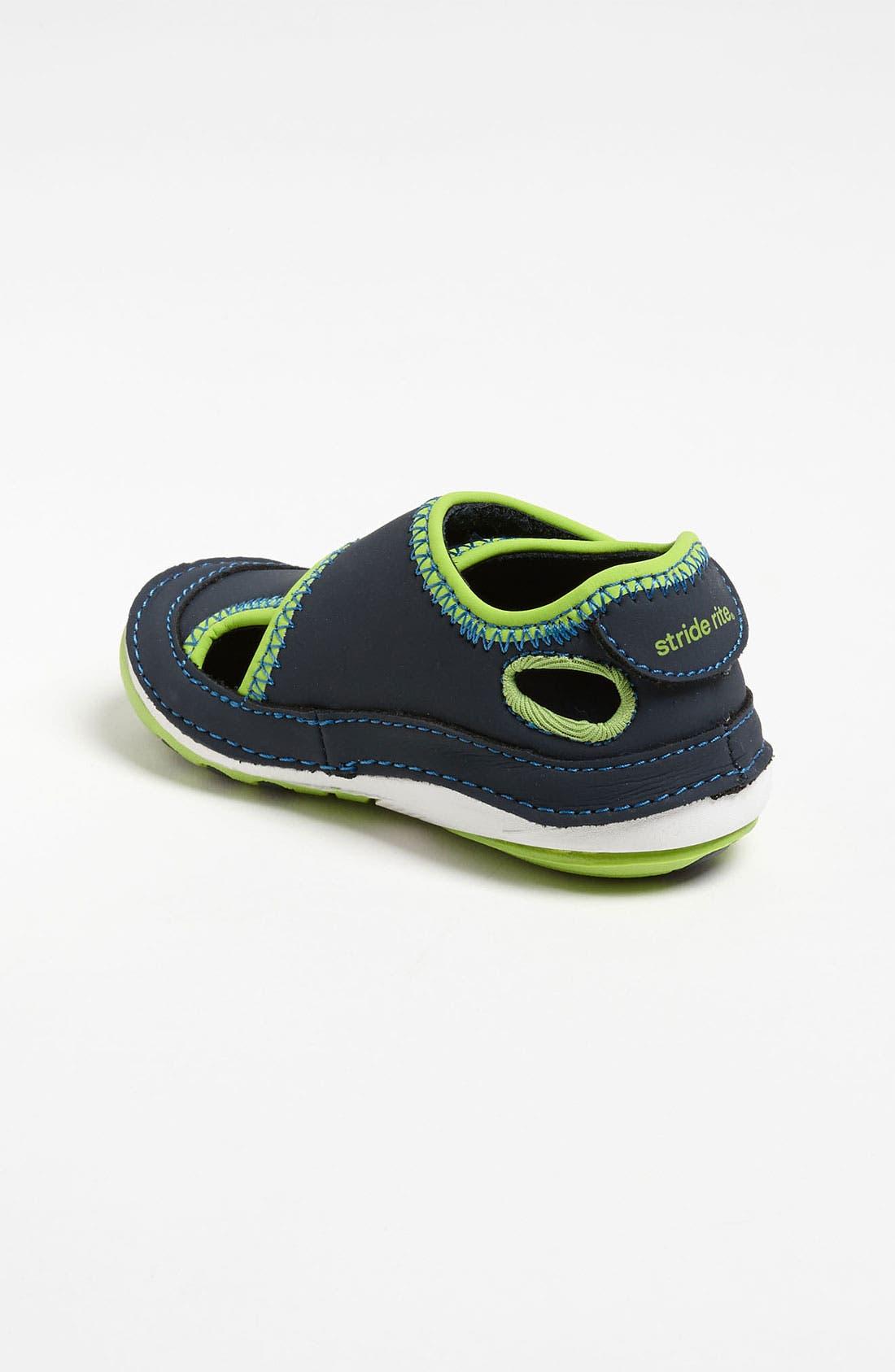 Alternate Image 2  - Stride Rite 'Crash' Sandal (Baby & Walker)