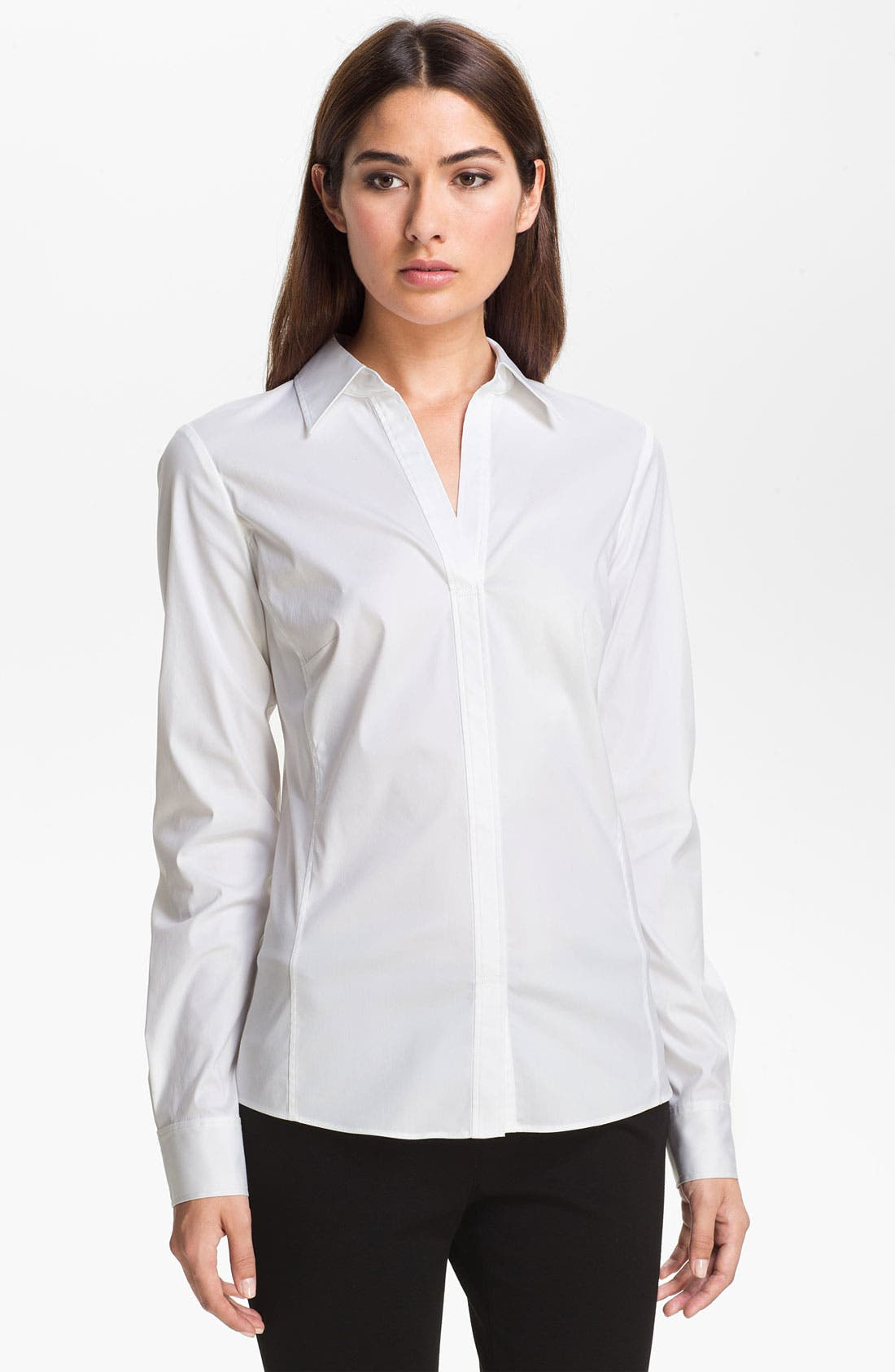 Alternate Image 1 Selected - Lafayette 148 New York 'Katie' Blouse (Online Only)