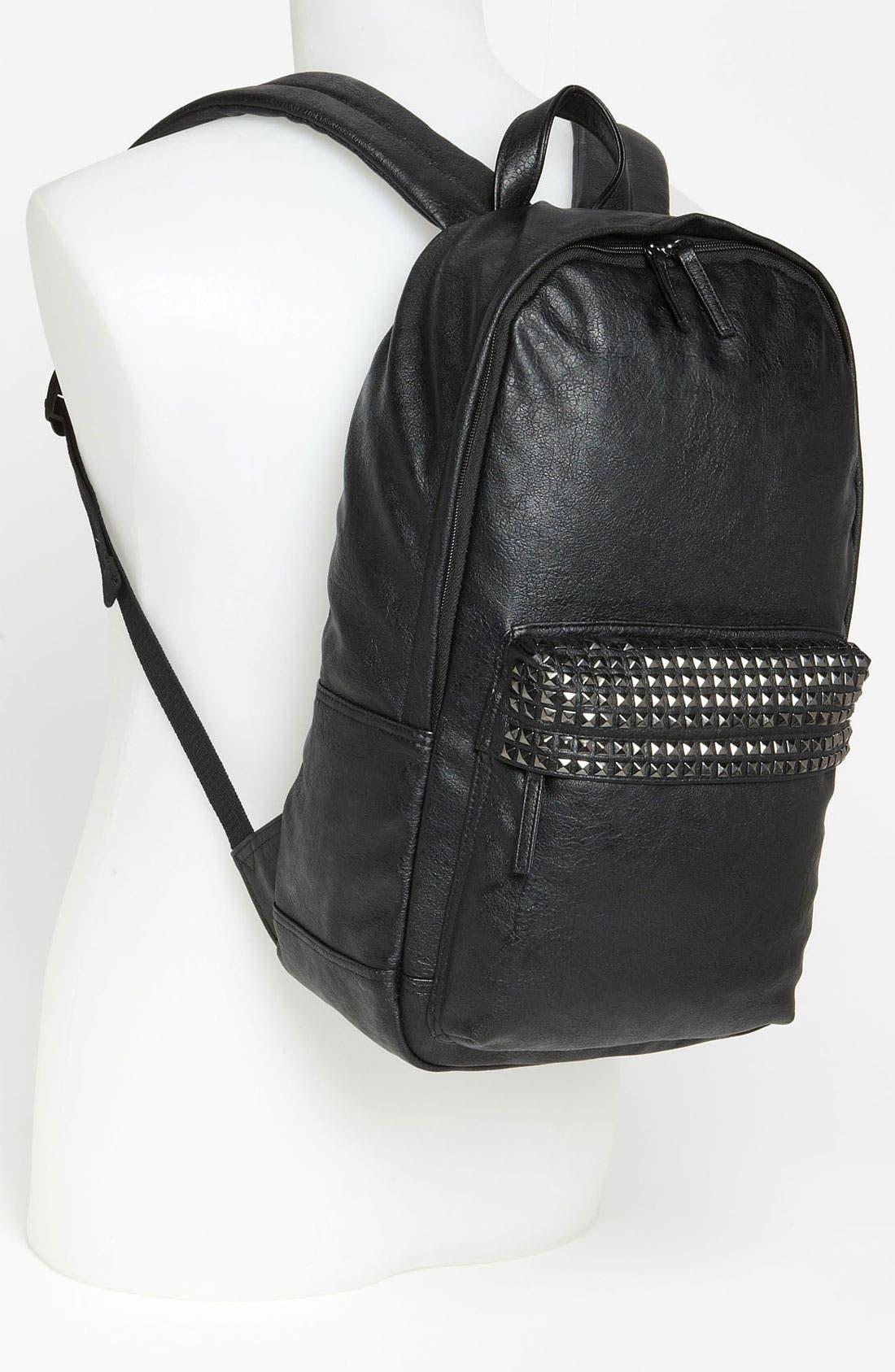 Alternate Image 2  - Topman Studded Backpack