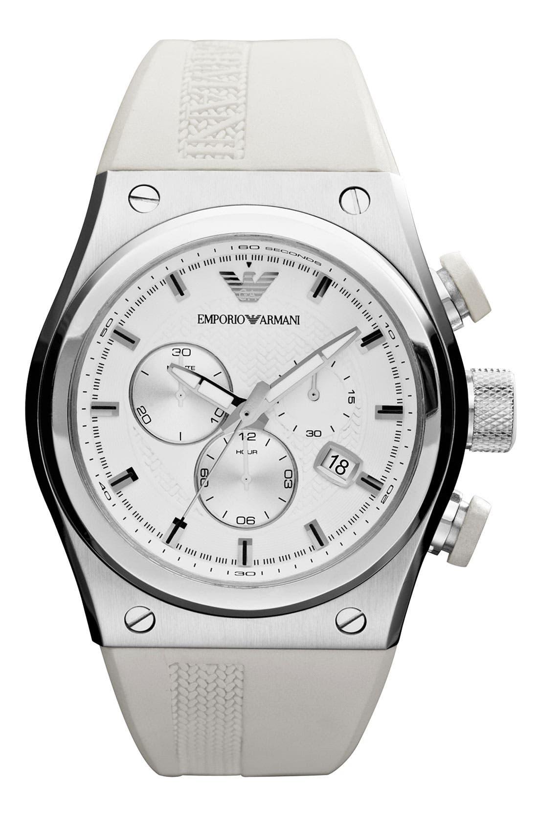 Alternate Image 1 Selected - Emporio Armani Sport Watch, 48mm