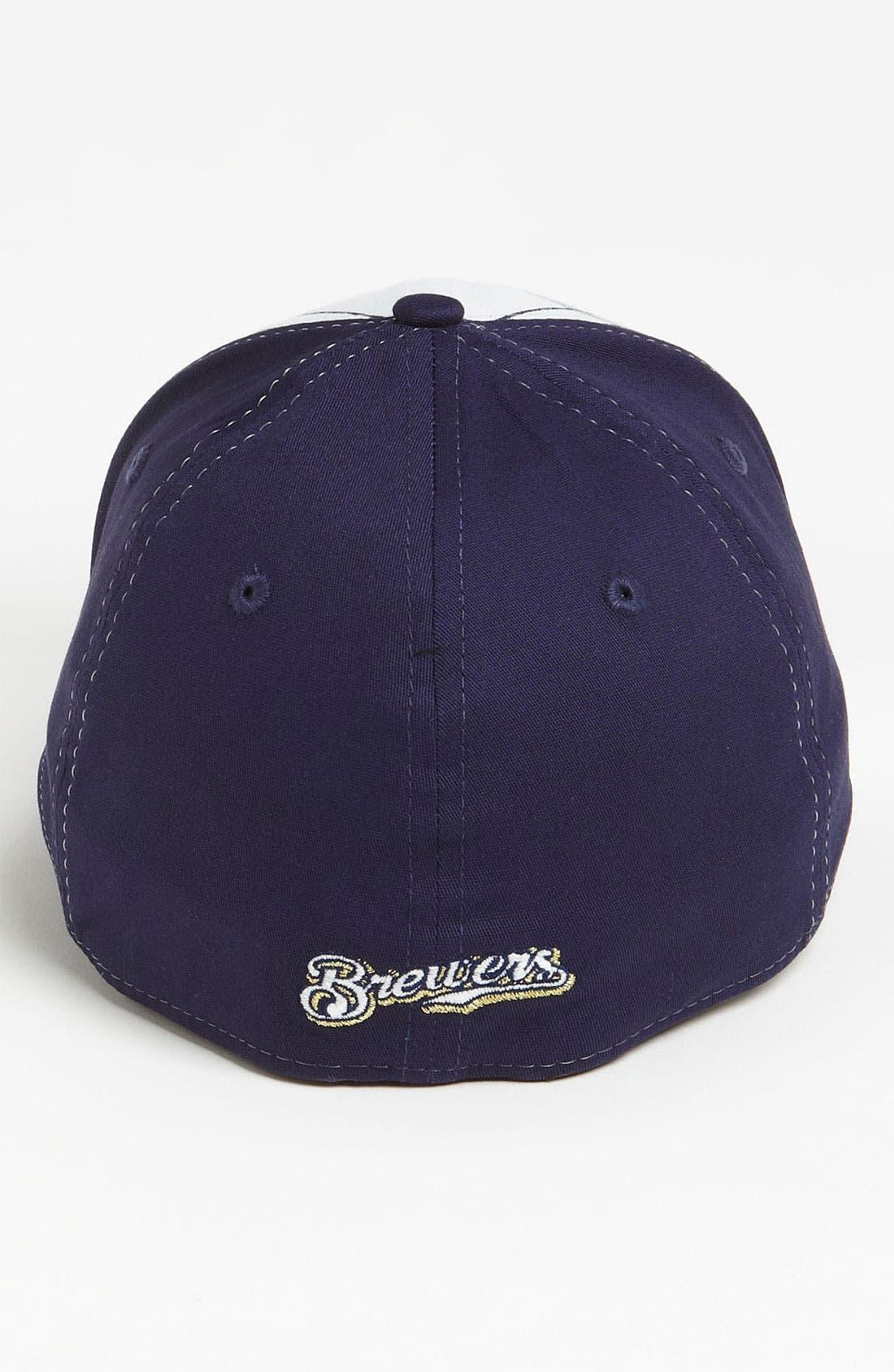 Alternate Image 2  - New Era Cap 'Milwaukee Brewers - Plaidtastic' Fitted Baseball Cap