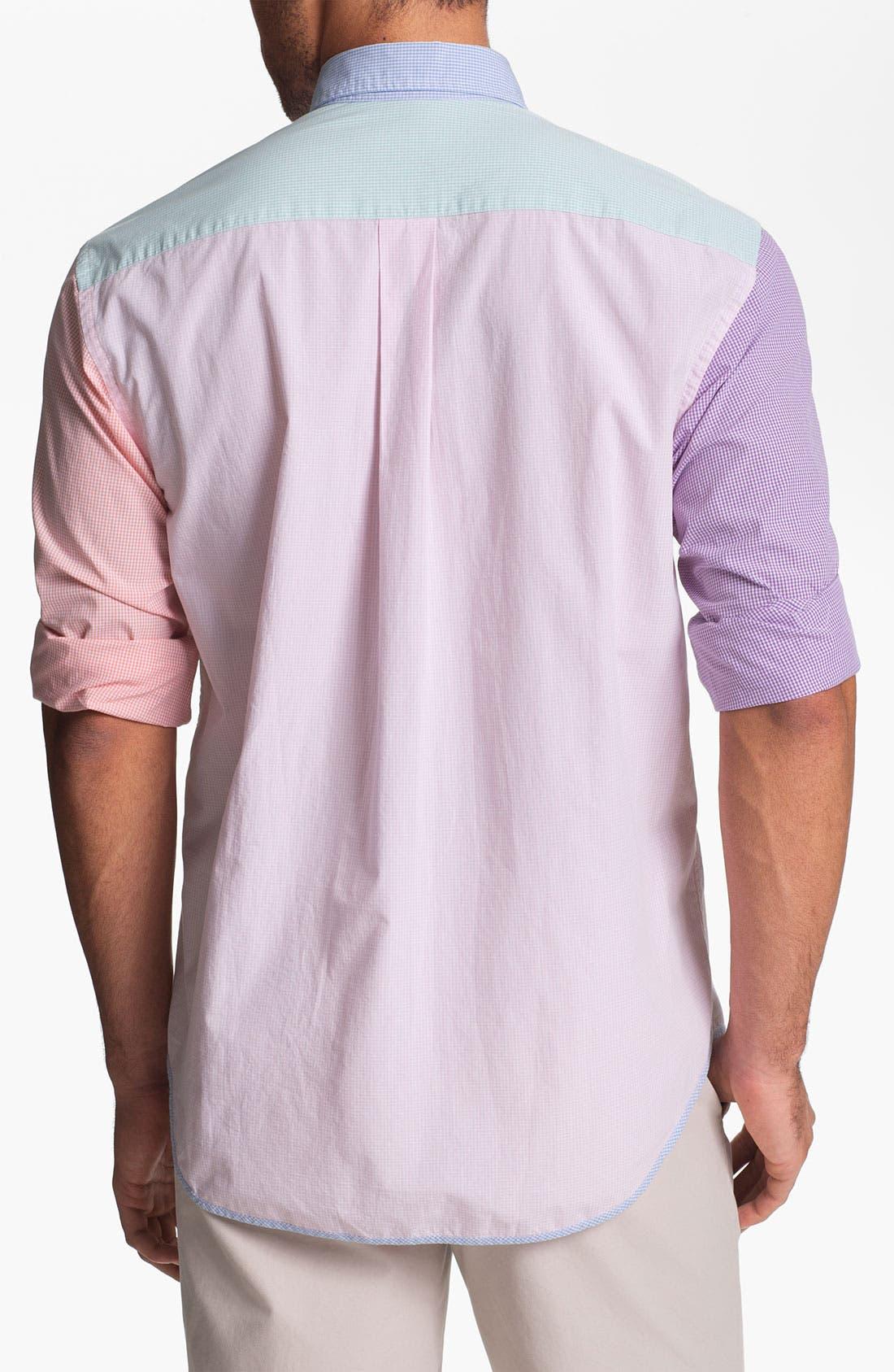 Alternate Image 2  - Vineyard Vines 'Party Antigua' Regular Fit Sport Shirt