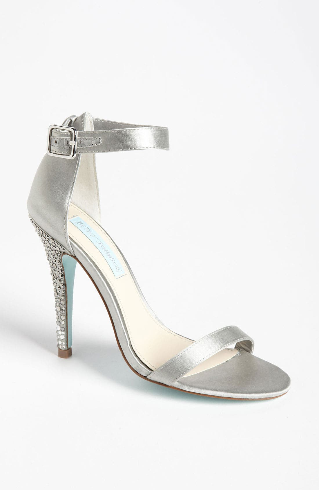 Alternate Image 1 Selected - Blue by Betsey Johnson 'Bells' Sandal