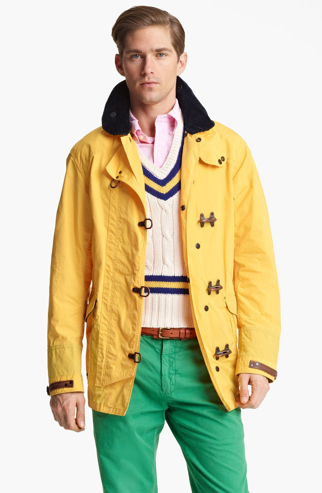 Main Image - Polo Ralph Lauren 'Flying Pont' Fireman's Slicker