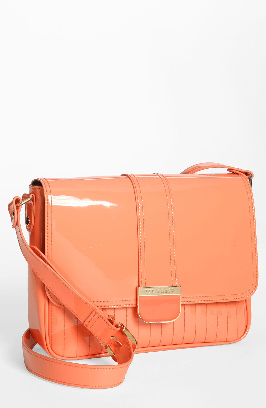 Main Image - Ted Baker London 'Large' Quilted Crossbody Bag