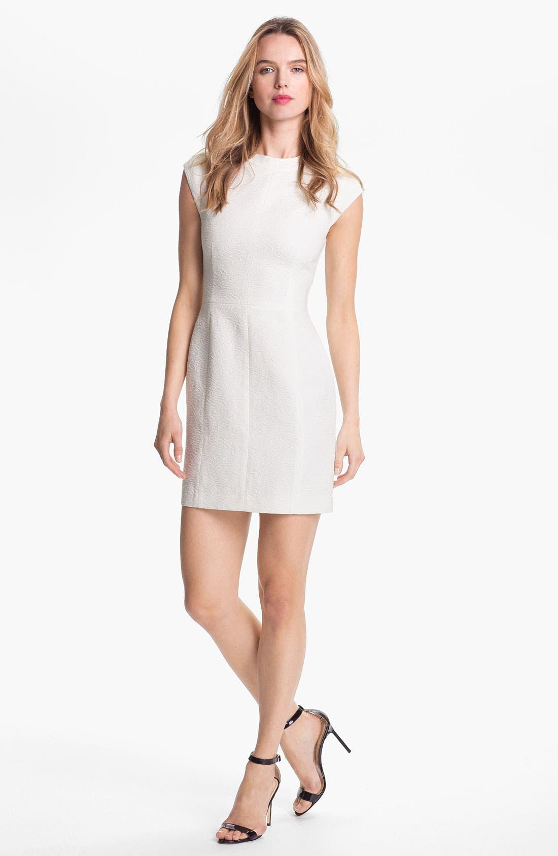 Alternate Image 1 Selected - Theory 'Orinthia' Cotton Blend Sheath Dress