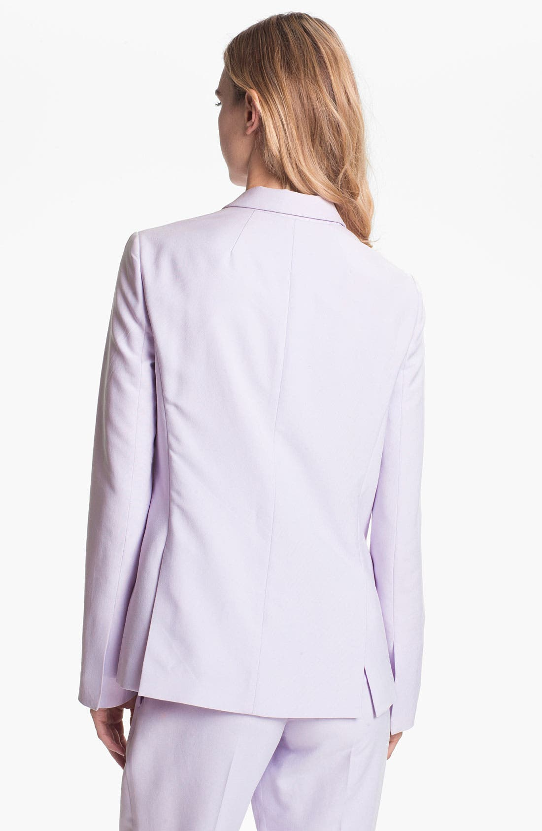 Alternate Image 2  - Theory 'Dalaine' Silk Blazer