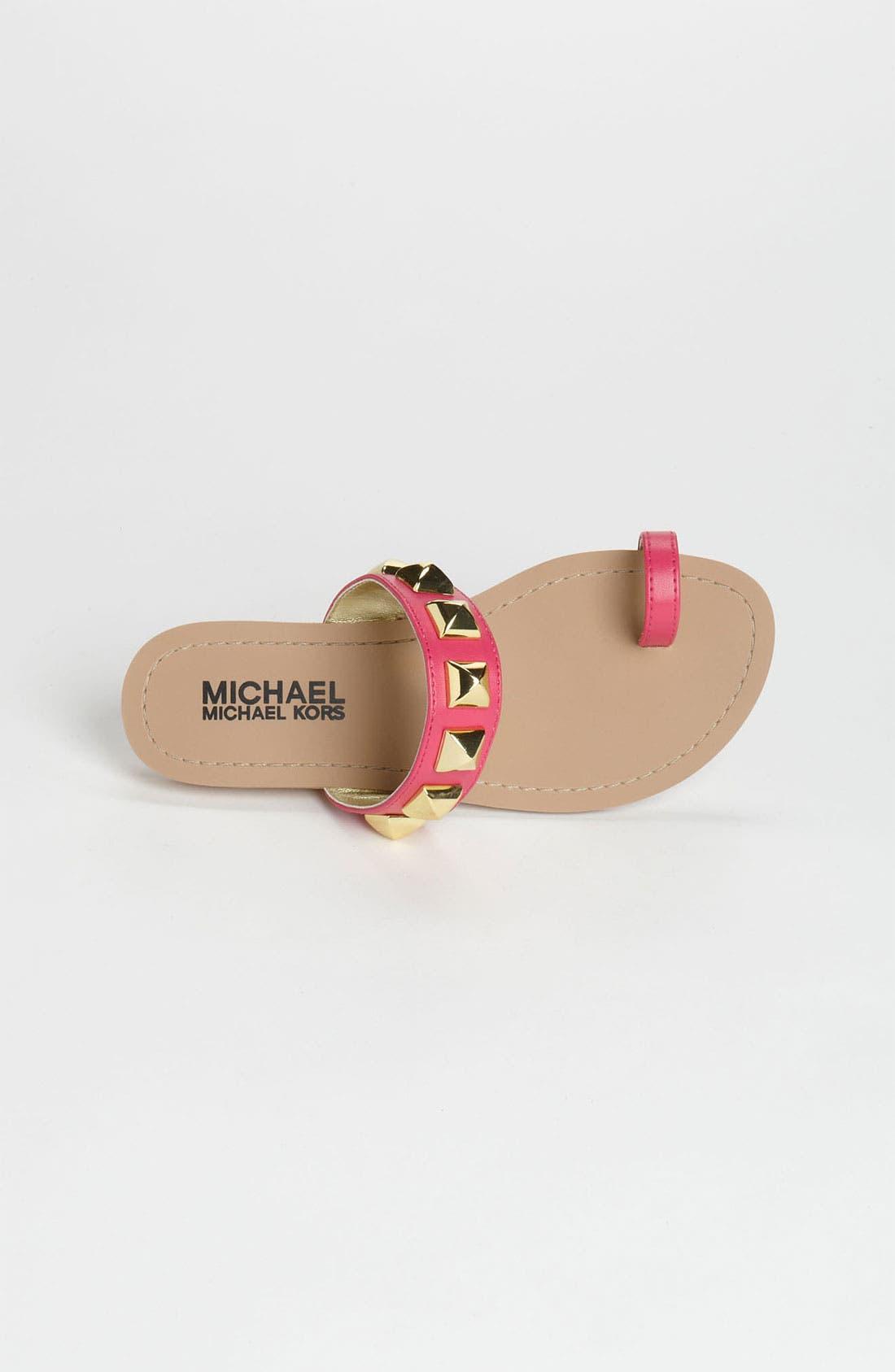 Alternate Image 3  - MICHAEL Michael Kors 'Zen' Sandal (Little Kid & Big Kid)