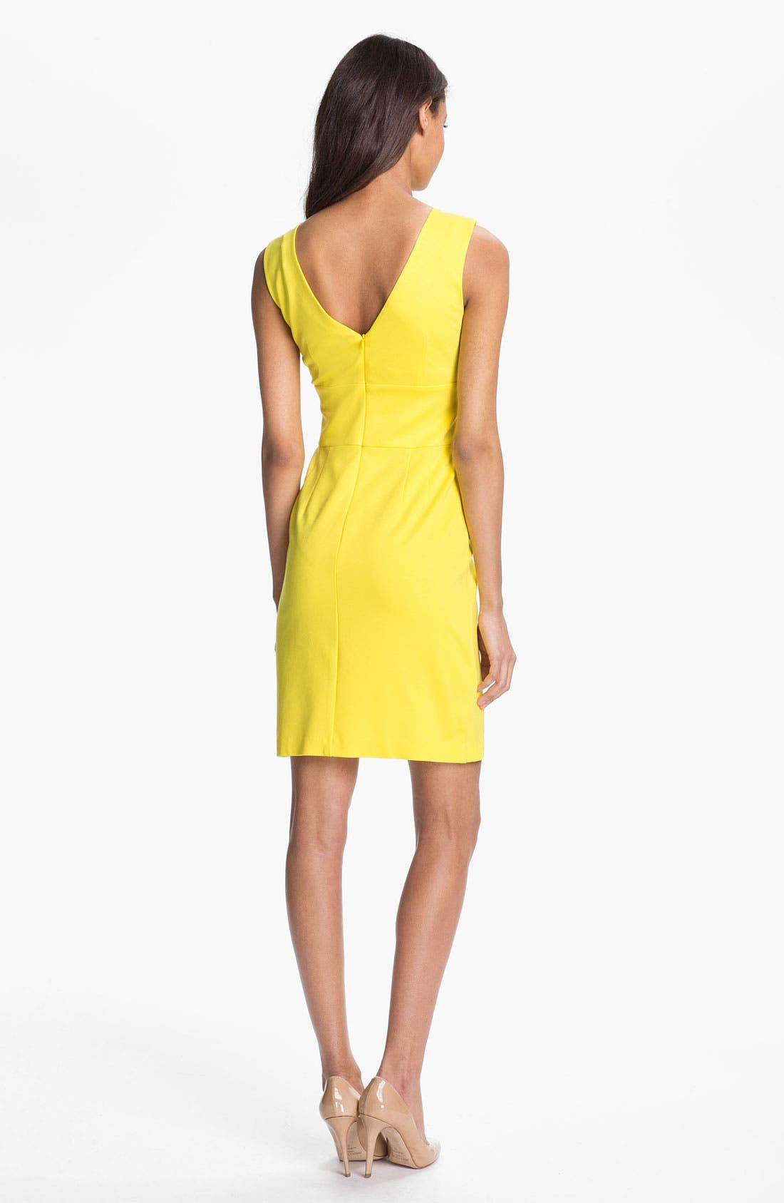Alternate Image 2  - Trina Turk 'Etiquette' Stretch Sheath Dress