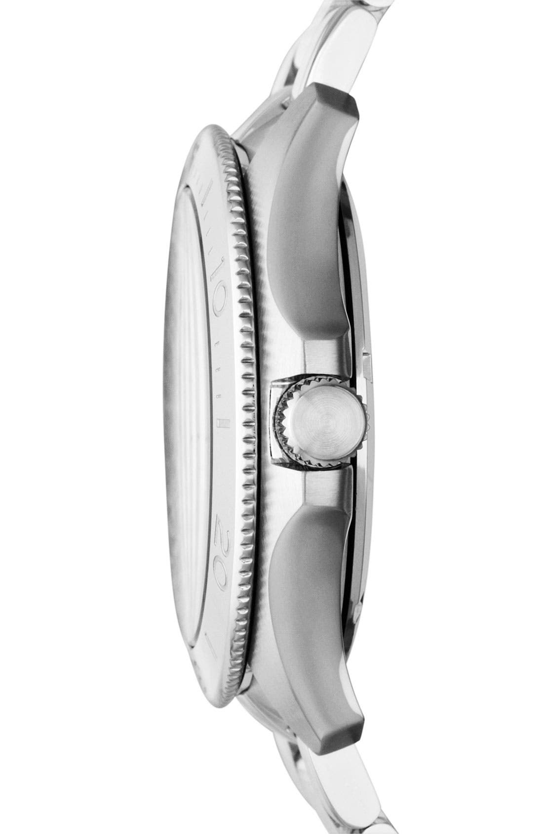Alternate Image 2  - Fossil 'Retro Traveler' Bracelet Watch, 44mm
