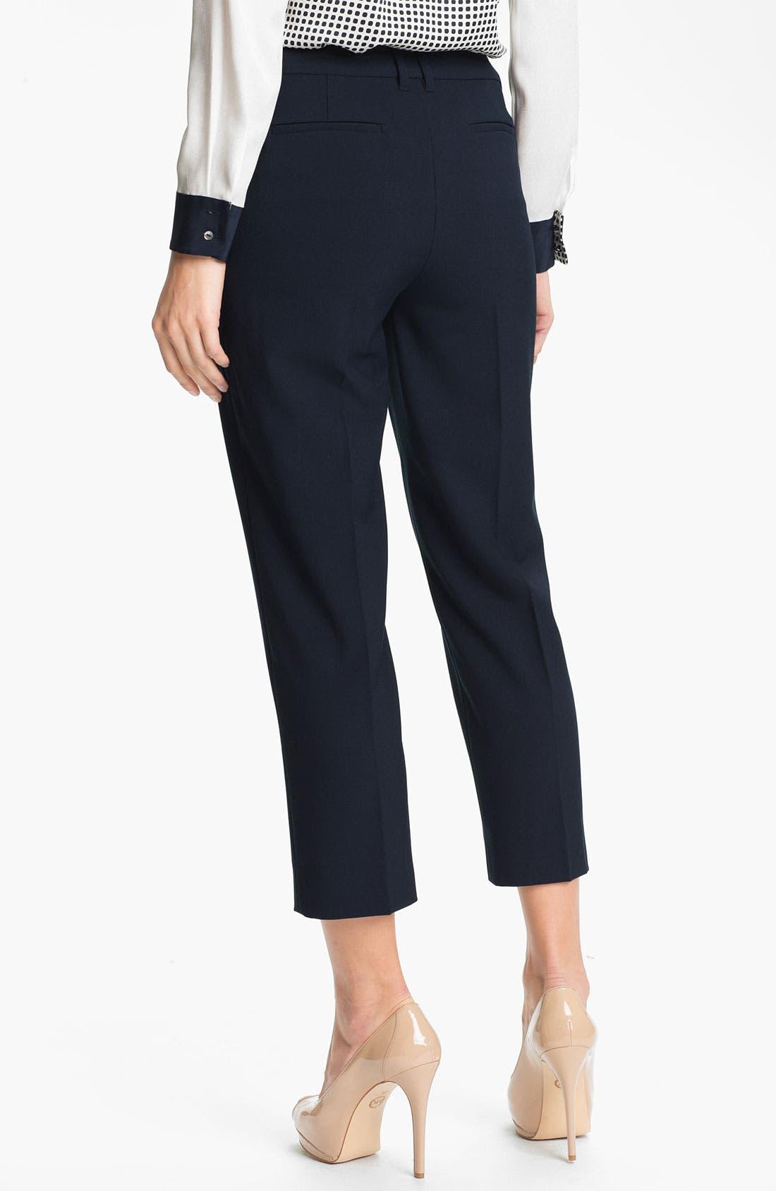 Alternate Image 2  - Adrianna Papell Double Belt Loop Crop Pants
