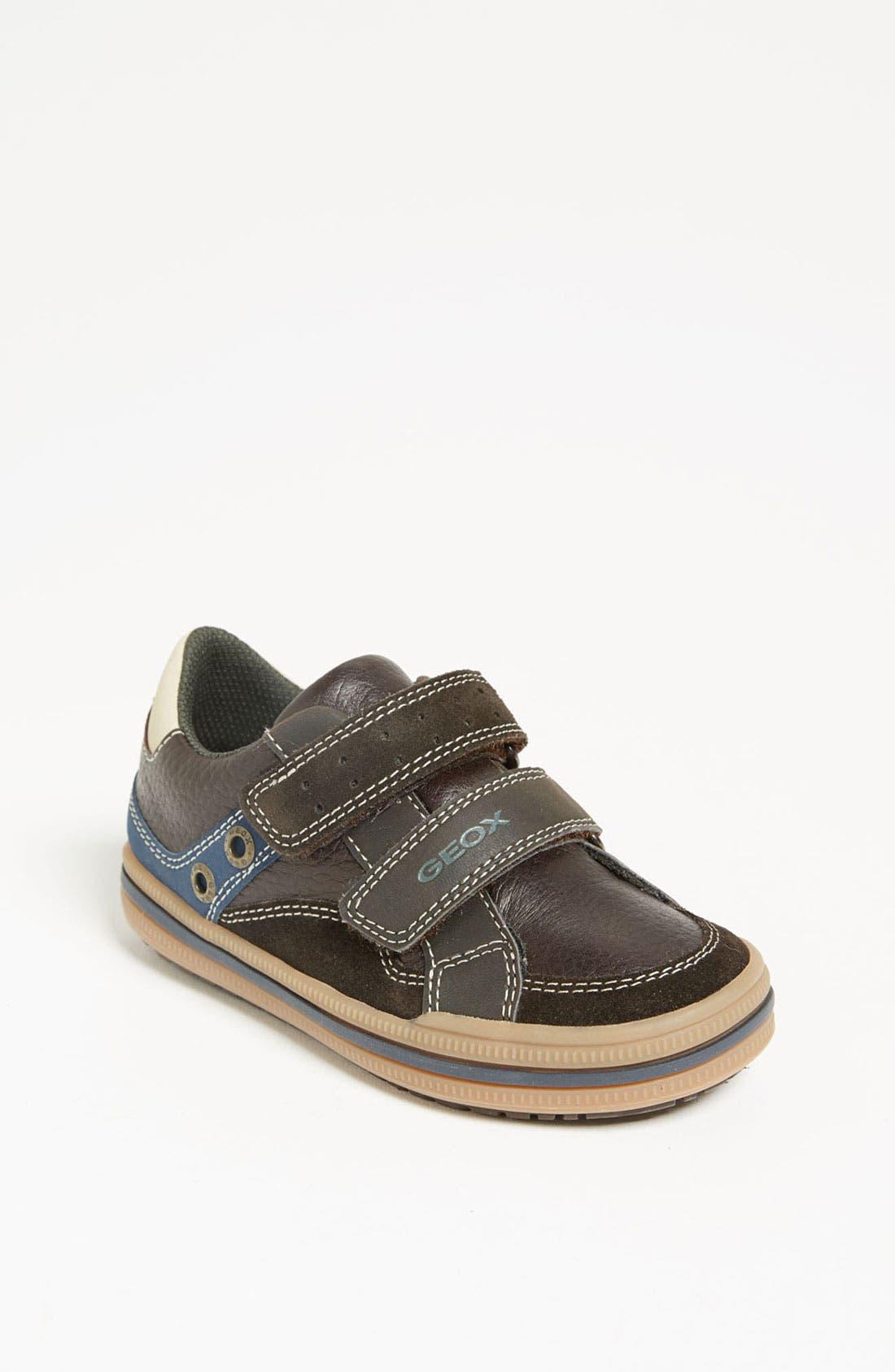Alternate Image 1 Selected - Geox Sneaker (Toddler, Little Kid & Big Kid)
