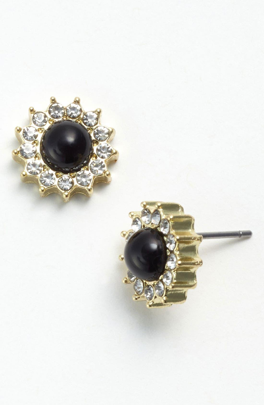 Alternate Image 1 Selected - BP. Rhinestone Starburst Stud Earrings