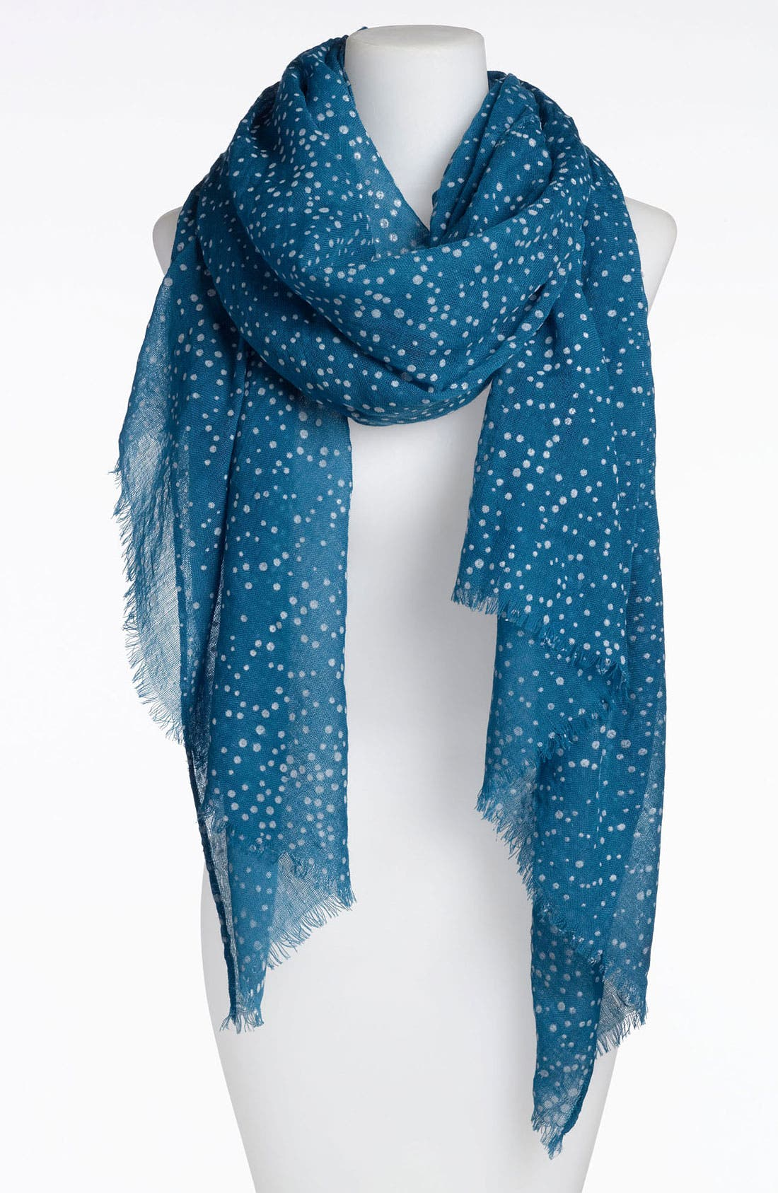 Main Image - Roffe Accessories 'Dots' Wool Scarf