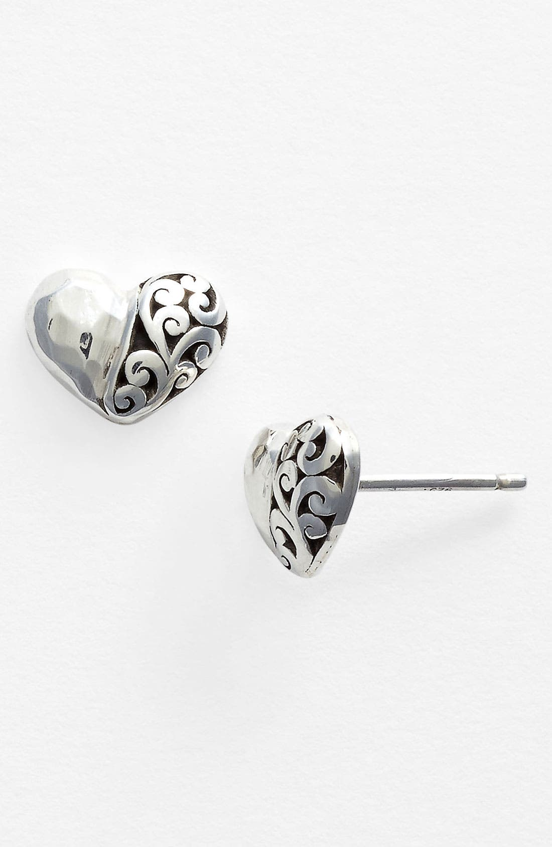 Alternate Image 1 Selected - Lois Hill Heart Stud Earrings