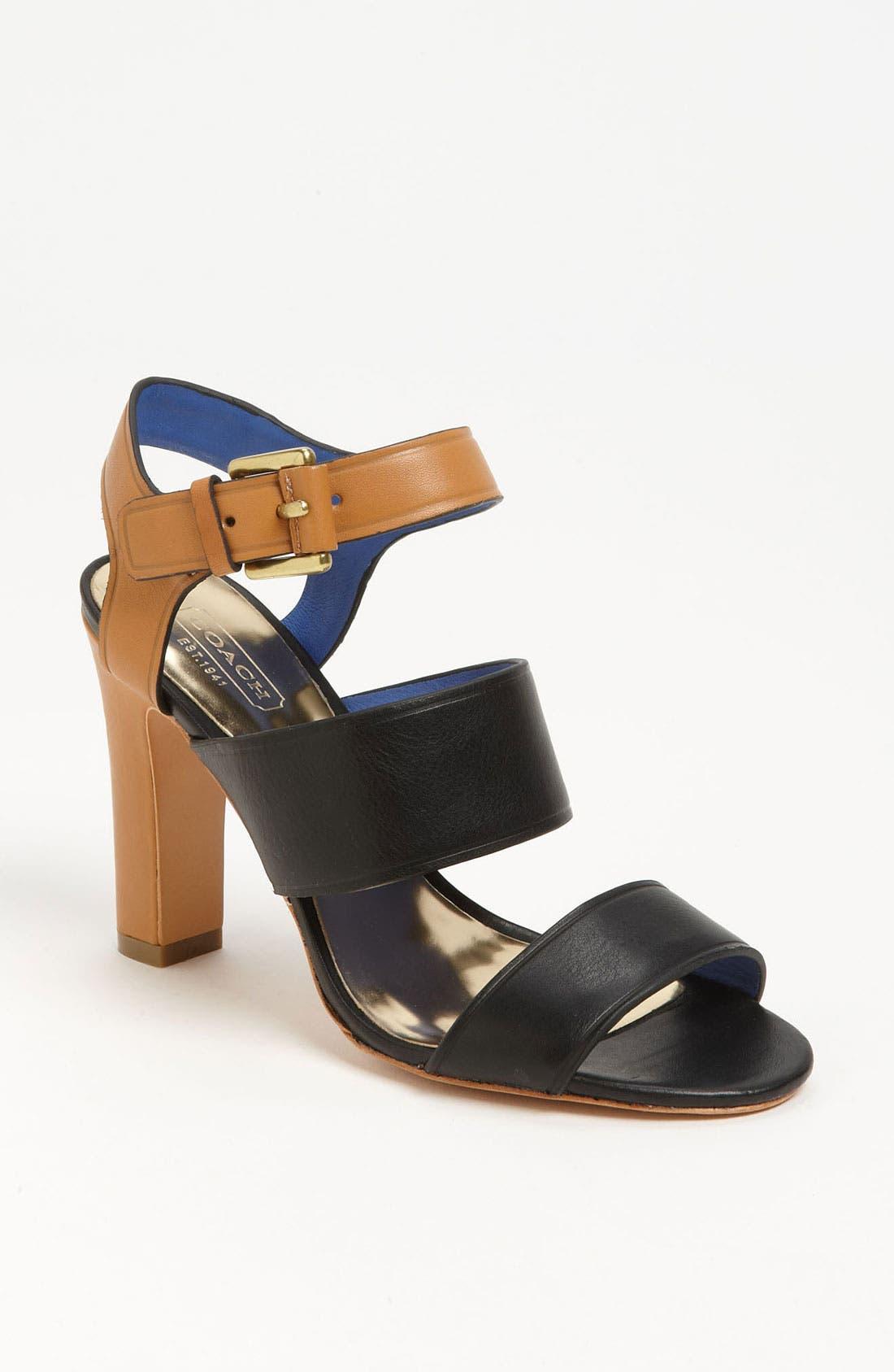Alternate Image 1 Selected - COACH 'Tilly' Sandal
