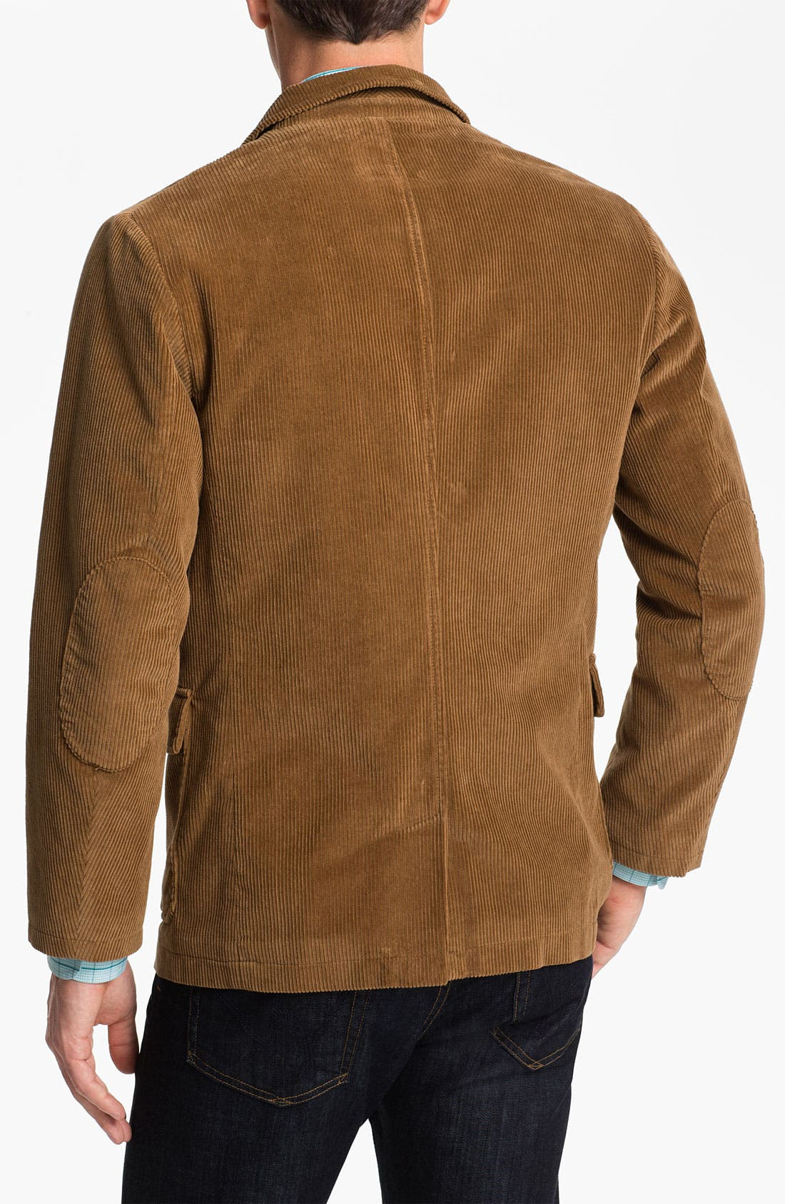 Alternate Image 2  - Brooks Brothers 'University Flatiron' Corduroy Blazer