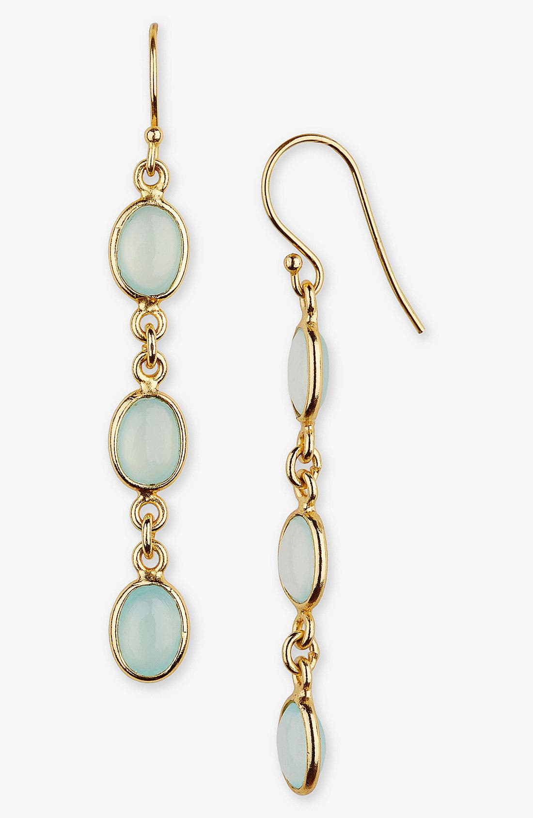 Alternate Image 1 Selected - Argento Vivo Stone Linear Earrings (Nordstrom Exclusive)
