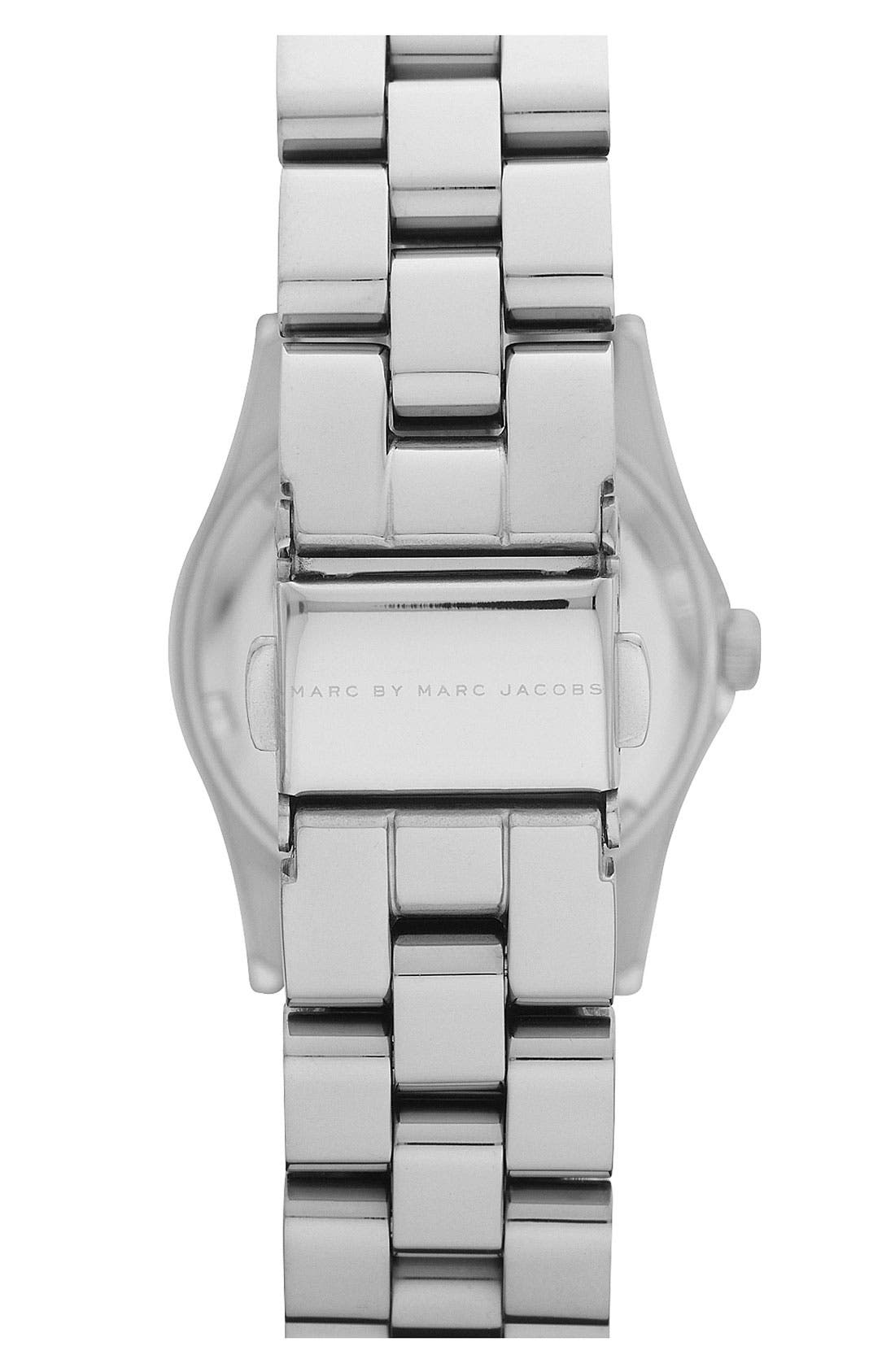 Alternate Image 3  - MARC BY MARC JACOBS 'Small Dexter Amy' Round Bracelet Watch