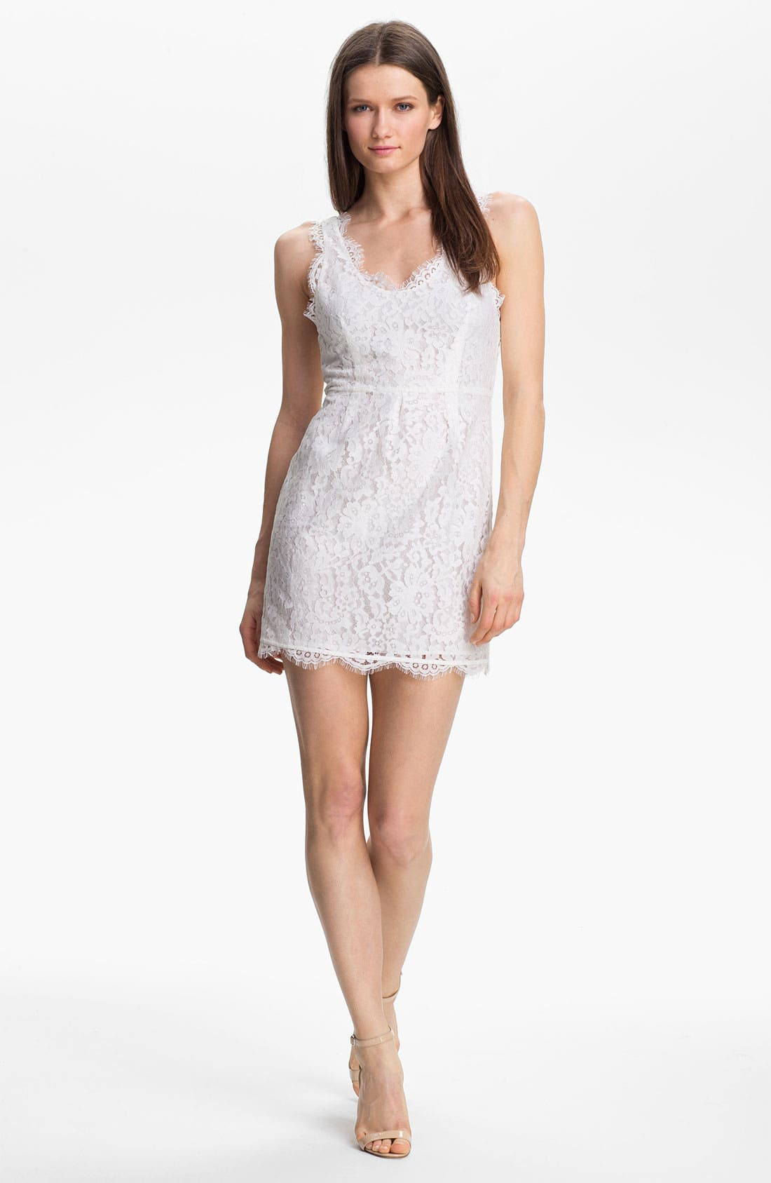 Main Image - Joie 'Rori' Sleeveless Lace Minidress