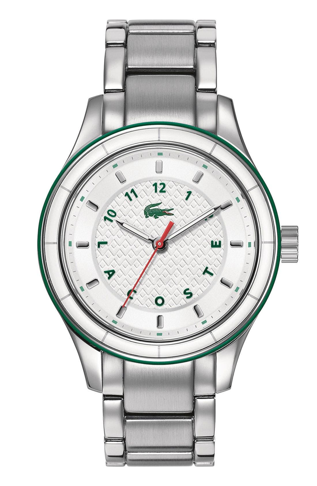 Main Image - Lacoste 'Sydney' Round Bracelet Watch, 38mm