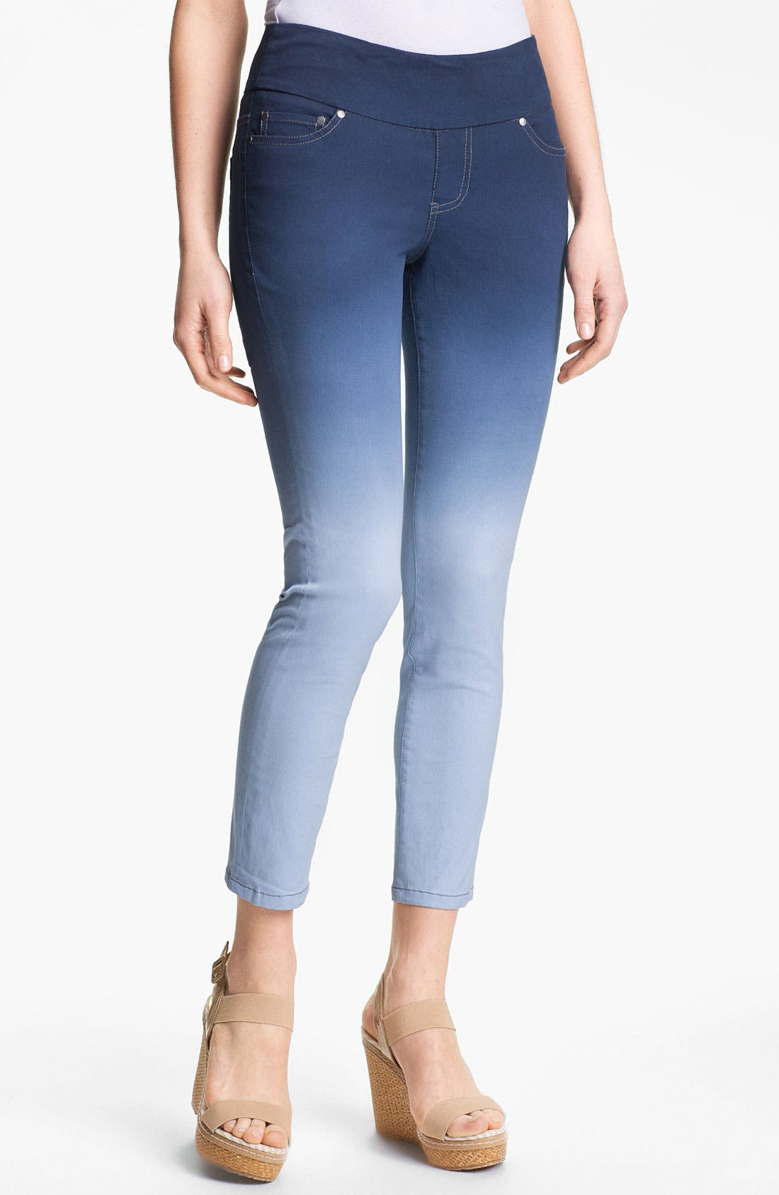 Alternate Image 1 Selected - Jag Jeans 'Amelia' Pull-On Slim Ankle Jeans