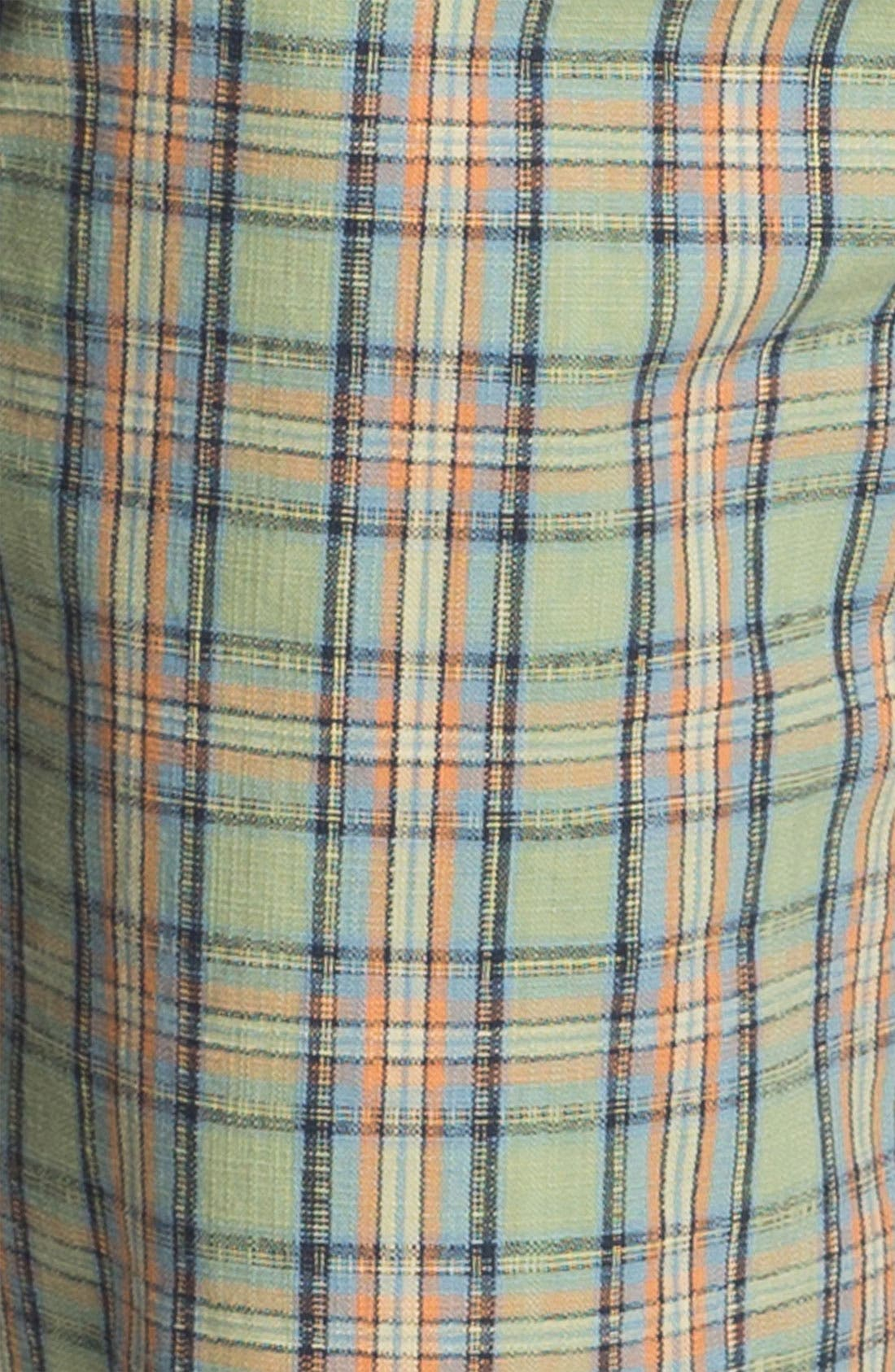 Alternate Image 3  - Just A Cheap Shirt 'Sorrento' Plaid Shorts