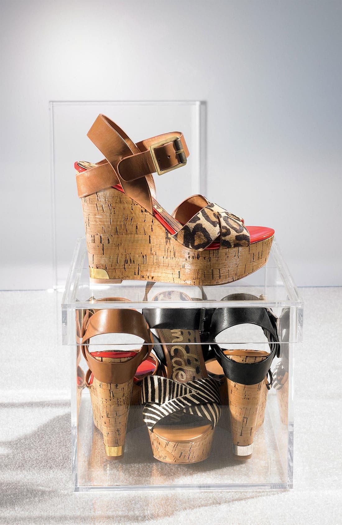 Alternate Image 5  - Sam Edelman 'Sasha' Wedge Sandal