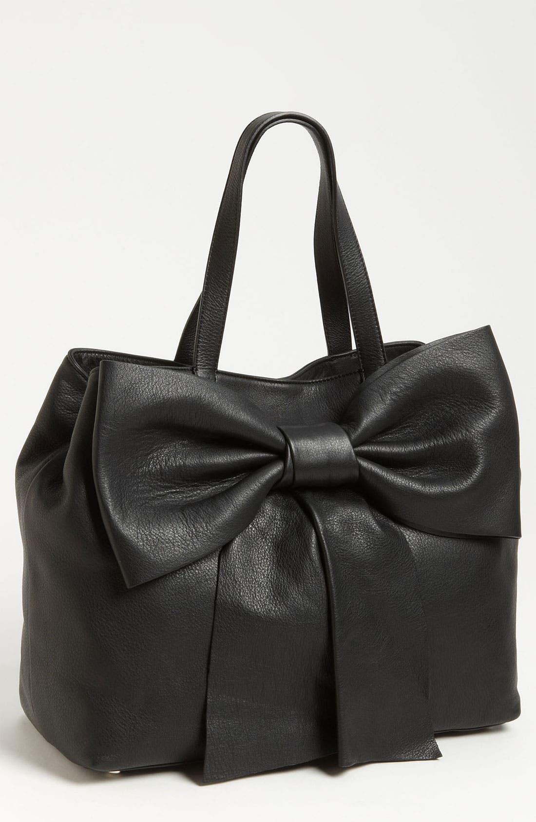 Alternate Image 1 Selected - RED Valentino 'Bow' Leather Satchel