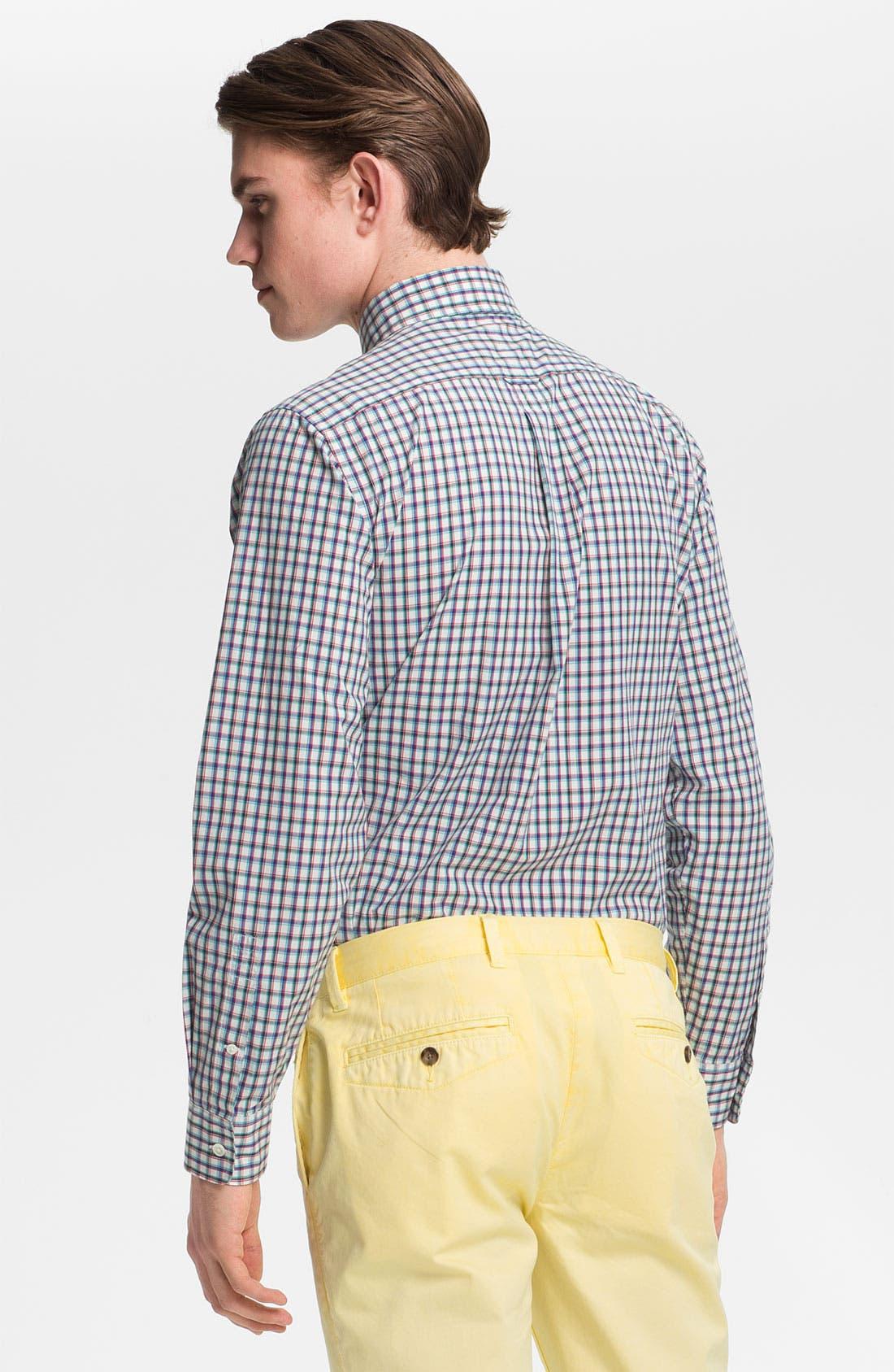 Alternate Image 2  - Jack Spade 'Barbary' Plaid Woven Shirt