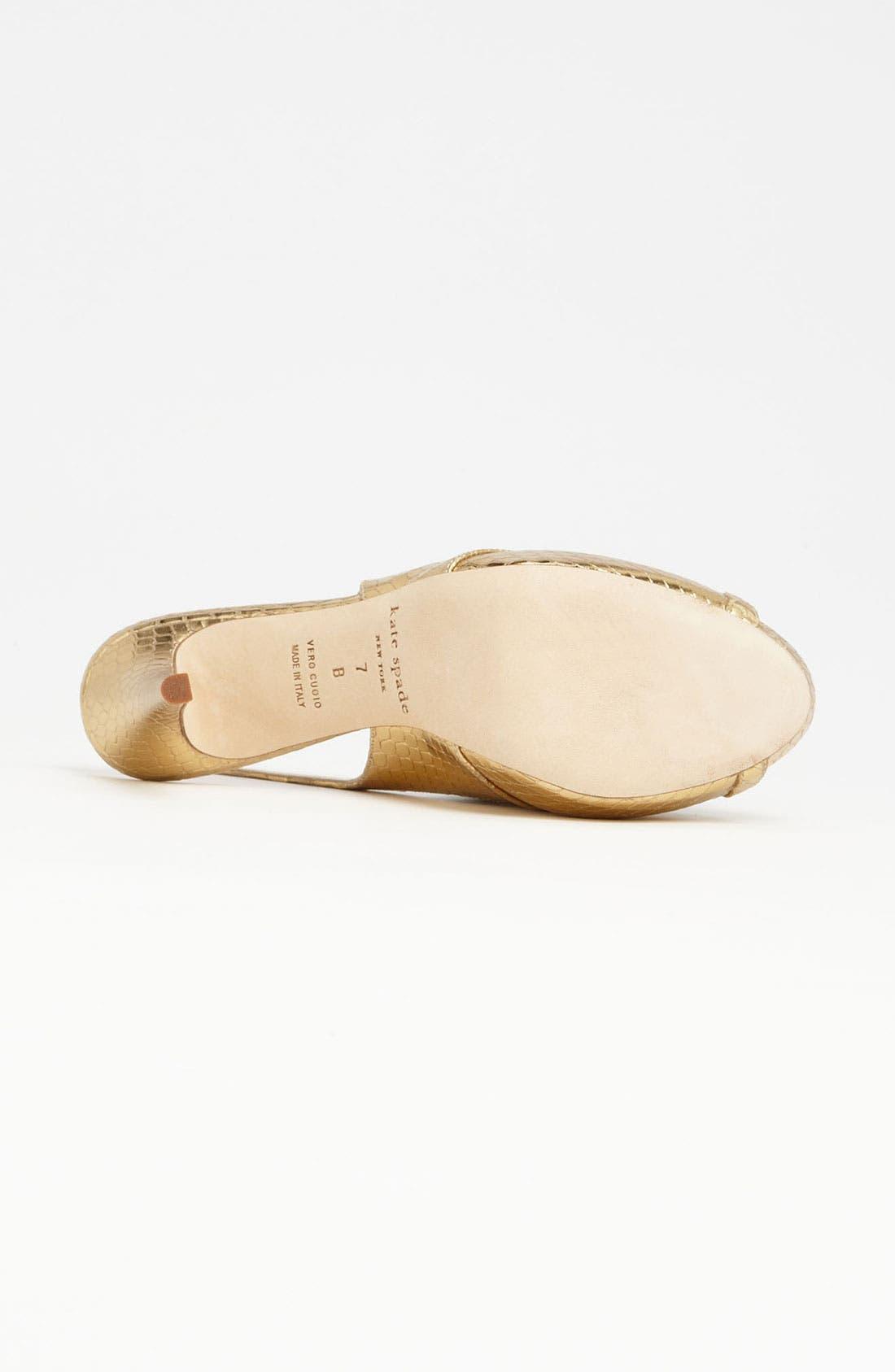 Alternate Image 4  - kate spade new york 'genna' sandal