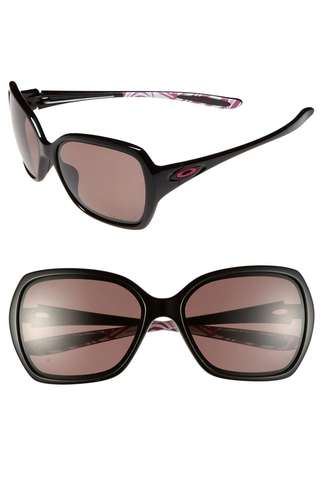 Alternate Image 1 Selected - Oakley 'Overtime™ - Breast Cancer Awareness Edition' 59mm Polarized Sunglasses