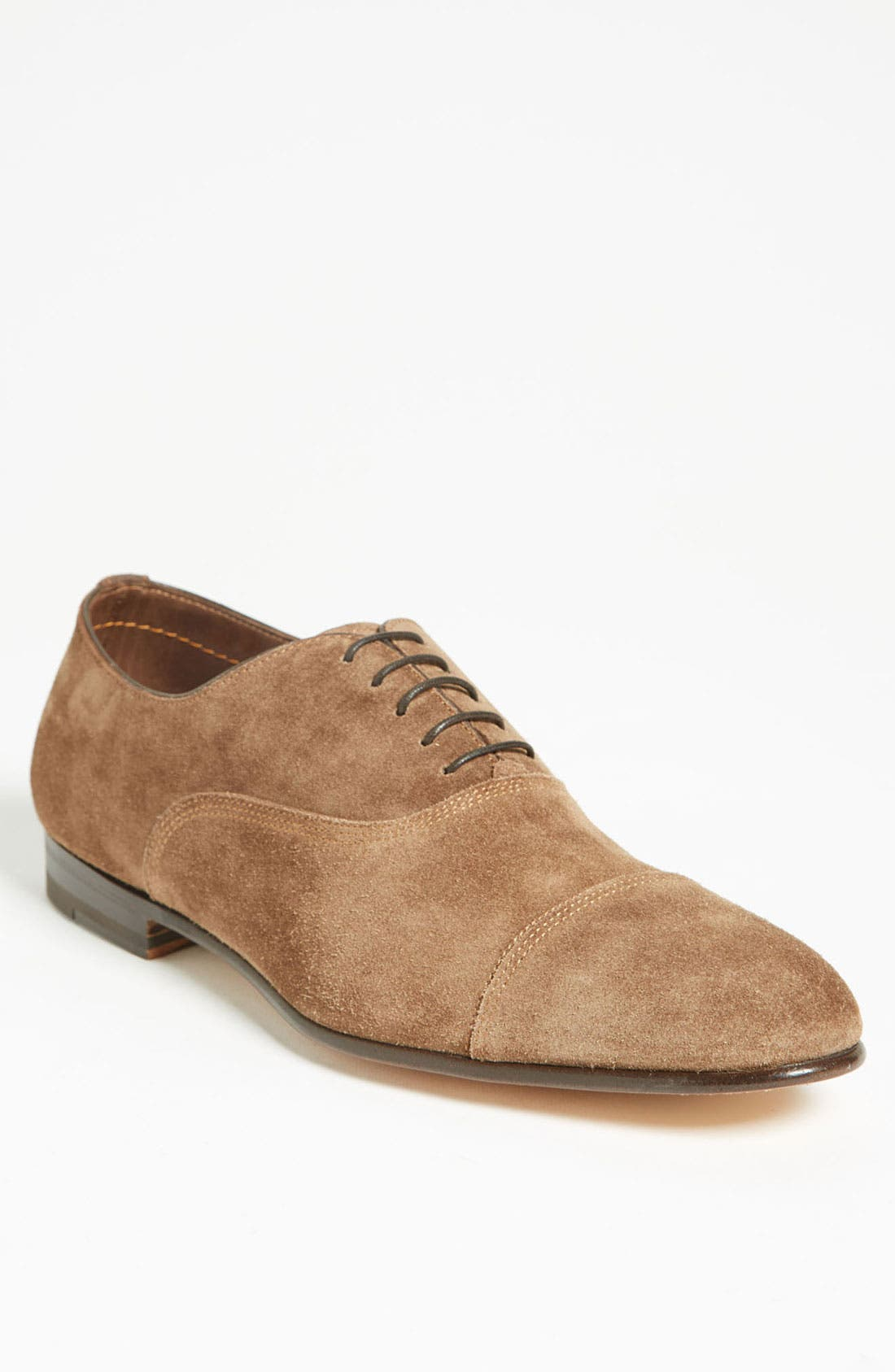 Alternate Image 1 Selected - Santoni 'Turk' Cap Toe Oxford