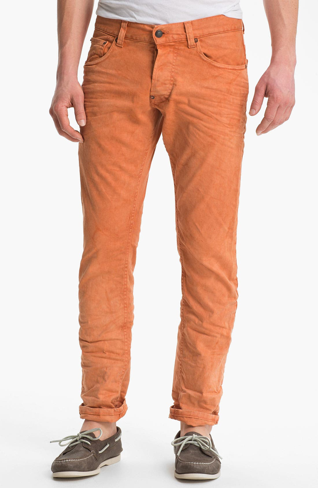 Alternate Image 2  - Gilded Age 'Morrison' Slim Fit Jeans (Apricot)