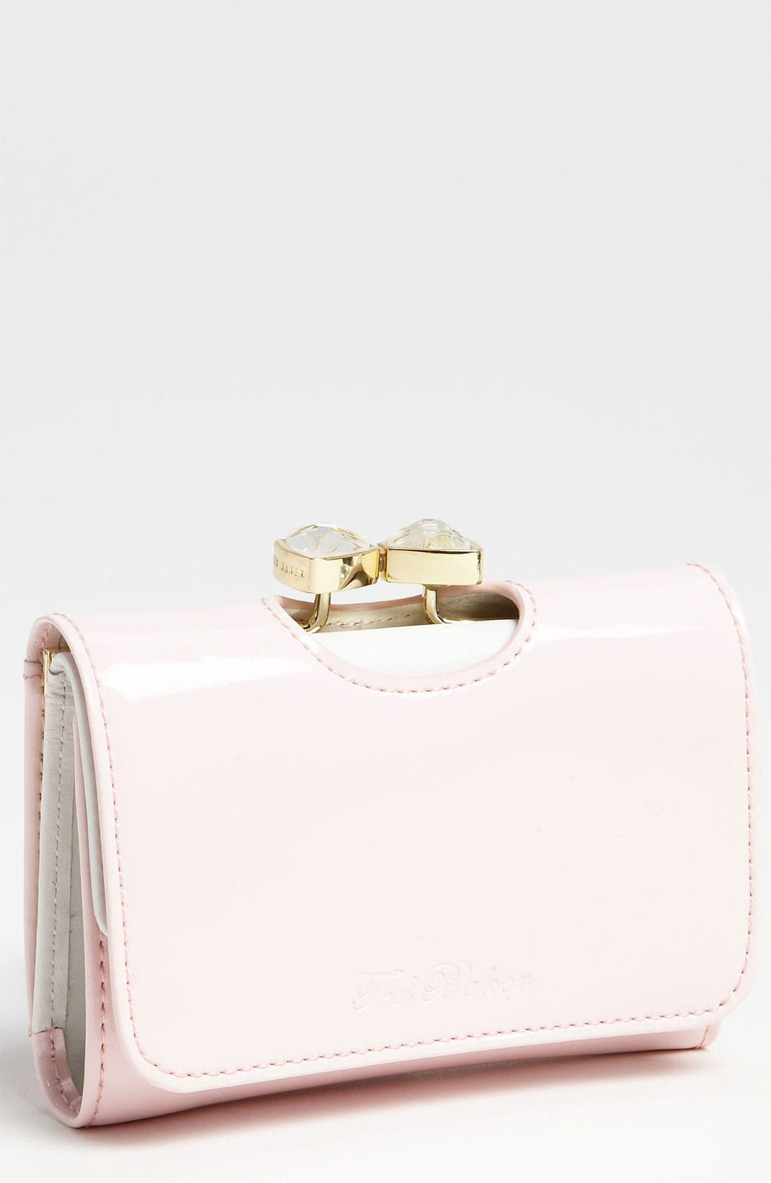 Main Image - Ted Baker London 'Bow Crystal - Small' Wallet