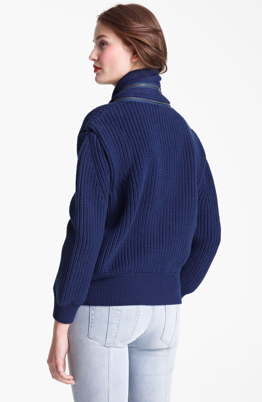 Alternate Image 2  - Burberry Brit Knit Cardigan