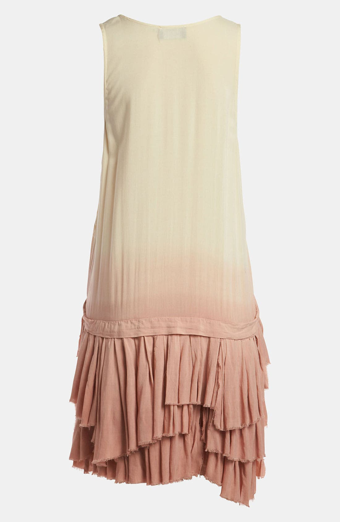 Alternate Image 2  - ASTR 'Ra Ra Ruffle' Dip Dye Tank Dress