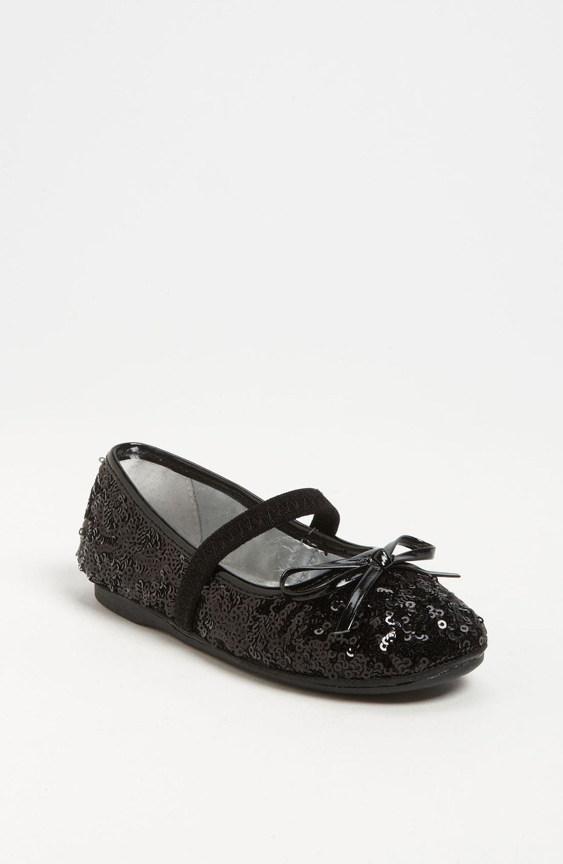 Alternate Image 1 Selected - Nina 'Fanti3' Sequin Flat (Walker & Toddler)