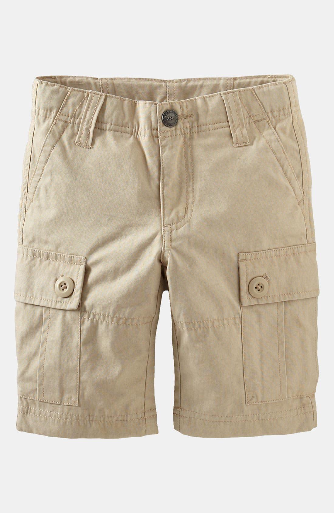 Main Image - Tea Collection 'Safari' Cargo Shorts (Toddler)