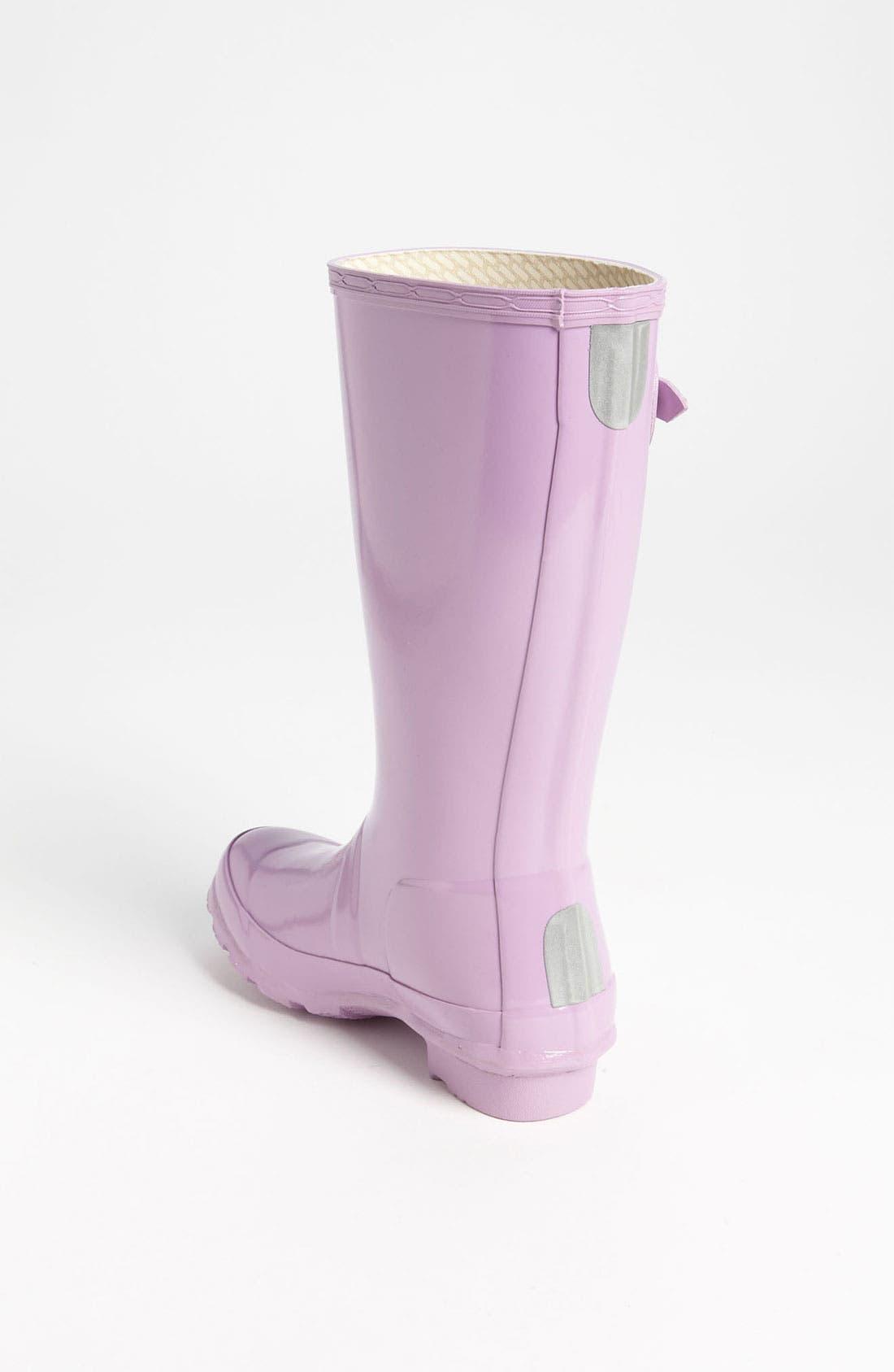 Alternate Image 2  - Hunter 'Original Gloss' Rain Boot (Little Kid & Big Kid)(Nordstrom Exclusive Color)